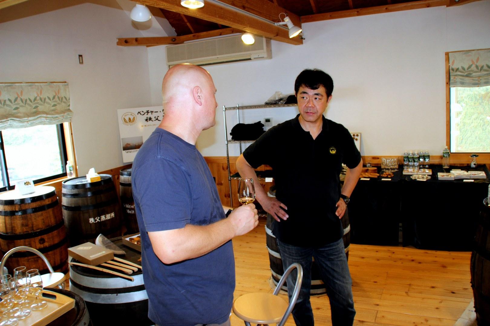 Mr. Ichiro und Stefan