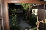Der Garten neben dem Teehaus