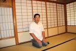 Herr Takada wartet auf den Tee