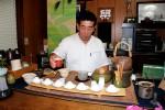 Herr Takada bei der Ausübung seiner Berufung