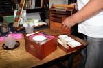 Der Reisekoffer für die mobile Teezeremonie